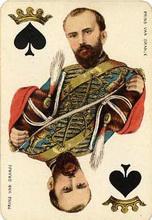 Java Speelkaarten No.17, 1879
