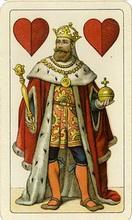 Einkopfige Deutsche Spielkarte