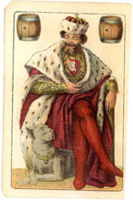 Czech Nationalistic playing cards 1895