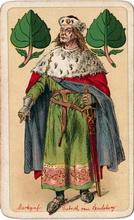 Altenburger Spielkarten Fabrik Schneider&Co. Leipziger Mess-Karte, 1897