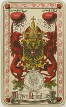 J.G.Fritsche (Leipzig, Germany). Neue Deutsche Spielkarte, 1883
