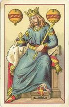 Deutsche Spielkarte, 1885