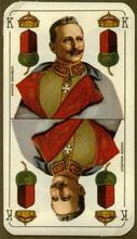 Vereinigte Stralsunder Spielkarten Fabrik AG (Germany). Deutsche Kriegs, 1915-1917