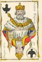 Hamburger Spielkarte, 1860