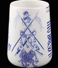 Стакан 2-го Лейб-уланского Курляндского Императора Александра II полка «В память столетнего юбилея полка».